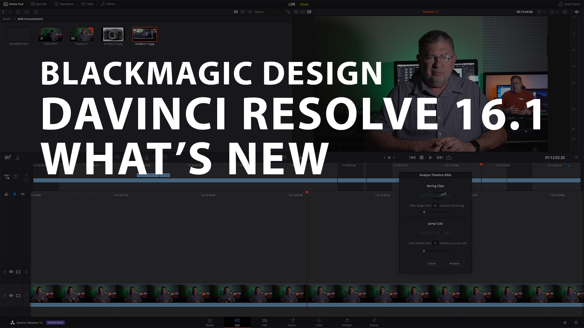 What S New In Davinci Resolve 16 1 Filmmaker Central